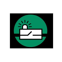 Icon Schützen, Schalten, Überwachen